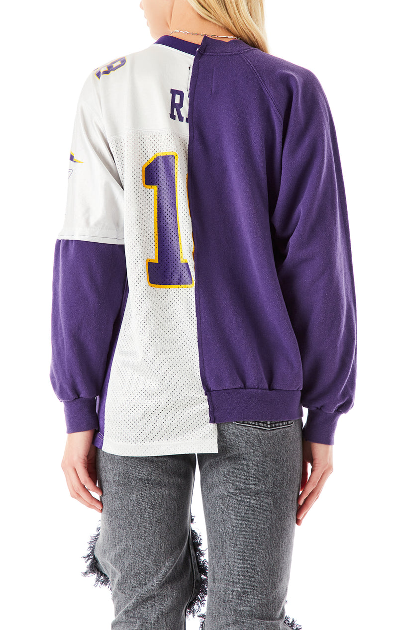 VINTAGE SPLICED JERSEY SWEATSHIRT