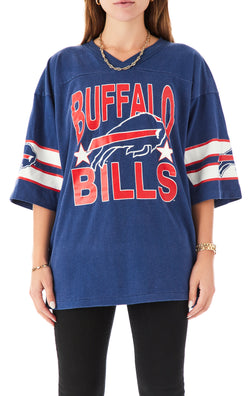 VINTAGE STRIPE SLEEVE NFL T-SHIRT