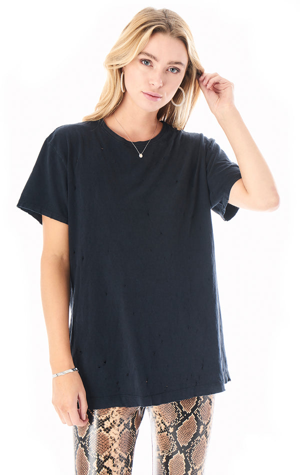 STONE WASHED OVERSIZED T-SHIRT