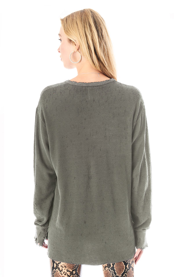 VINTAGE STONEWASHED THERMAL