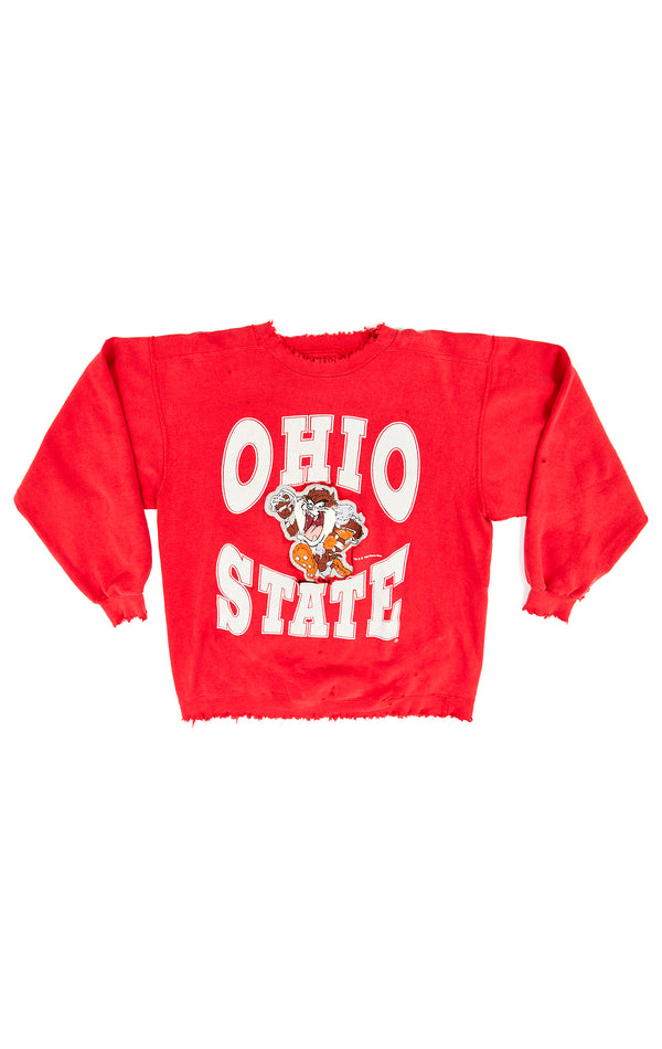 VINTAGE CARTOON COLLEGE SWEATSHIRT