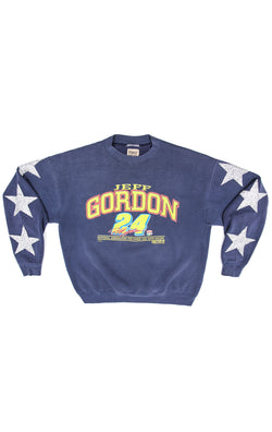 VINTAGE STAR PATCH NASCAR SWEATSHIRT