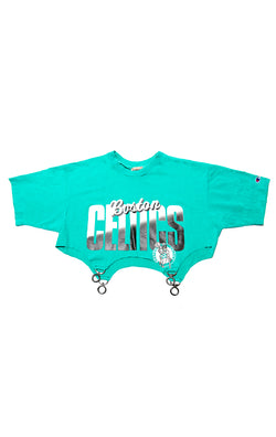 VINTAGE CLASP BOTTOM SPORTS T-SHIRT