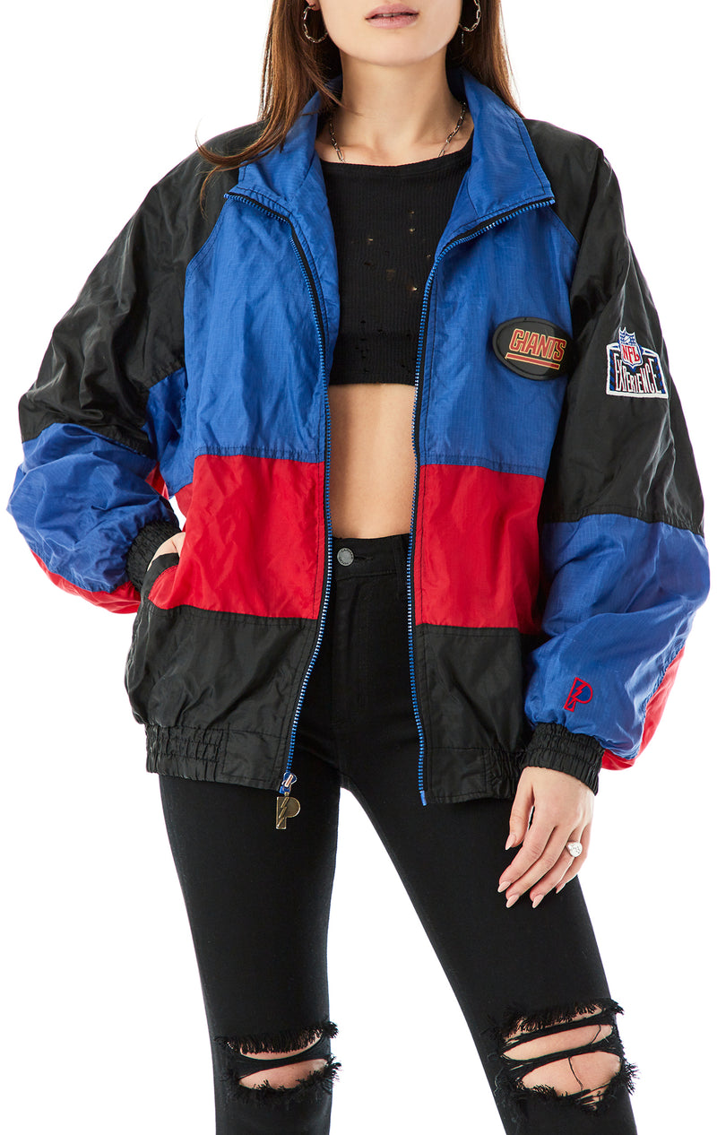 VINTAGE NFL ZIP UP WINDBREAKER JACKET