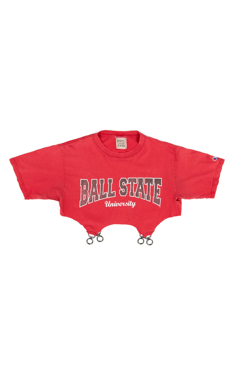 VINTAGE CLASP BOTTOM COLLEGE T-SHIRT