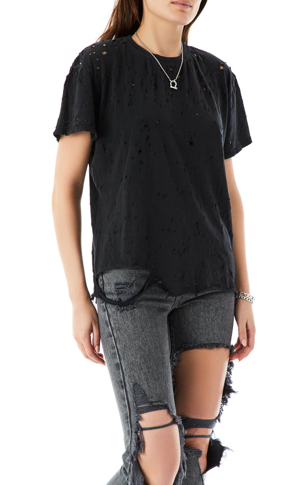 OVERSIZED STONEWASHED T-SHIRT