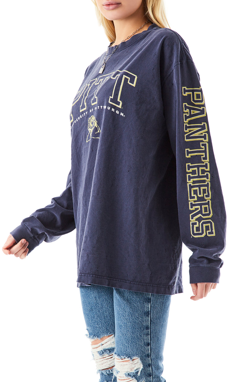 VINTAGE LONG SLEEVE COLLEGE T-SHIRT