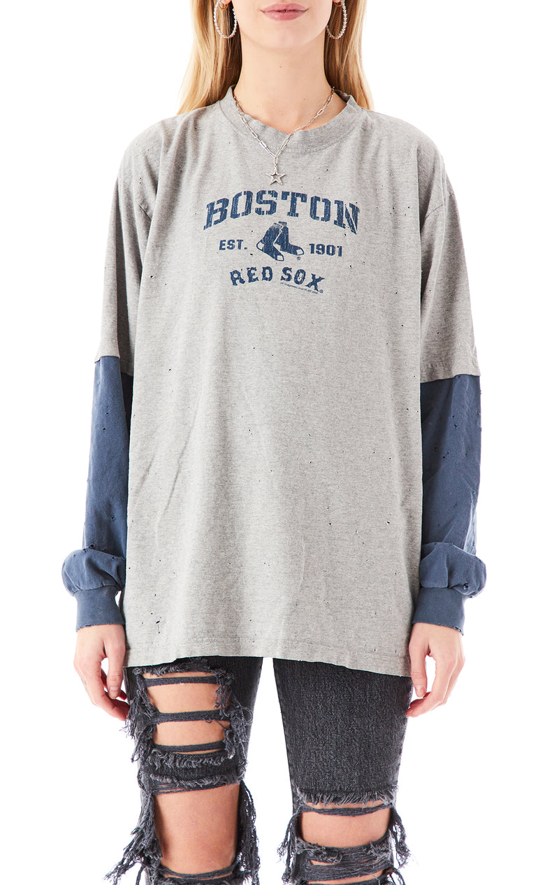 VINTAGE LONG SLEEVE SPORTS T-SHIRT
