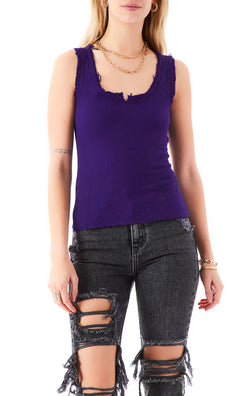 THERMAL NOTCH COLLAR TANK TOP