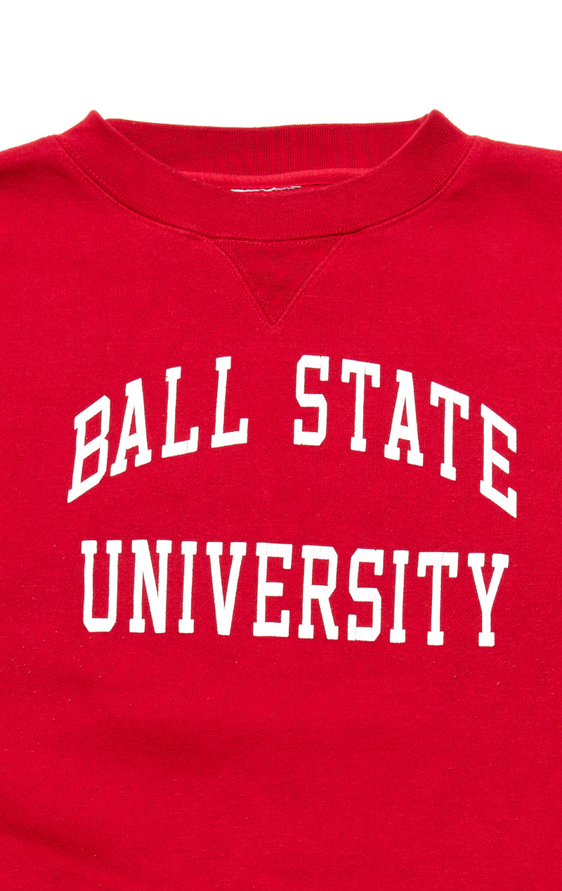 VINTAGE STAR PATCH COLLEGE SWEATSHIRT