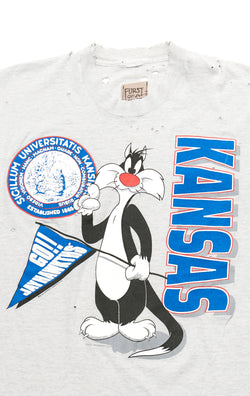 VINTAGE CARTOON COLLEGE T-SHIRT