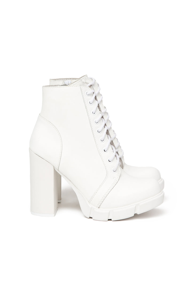 JEFFREY CAMPBELL SOLAR LACE UP BOOTIE SIDE