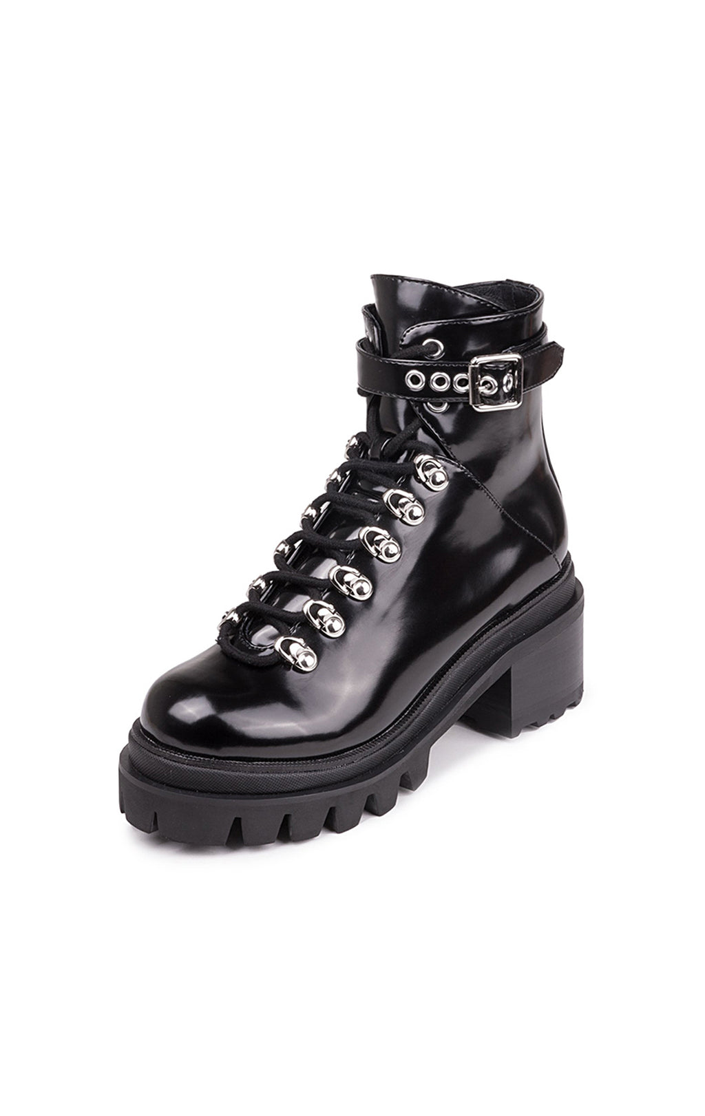 CZECH COMBAT BOOT WITH CHUNKY LUG SOLE