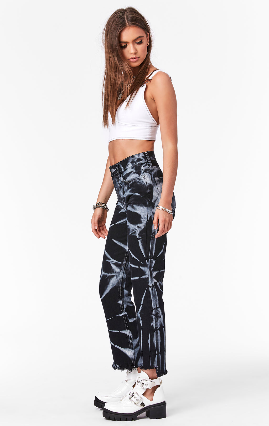 CARMAR DENIM TIE DYE EMELIA JEAN SIDE