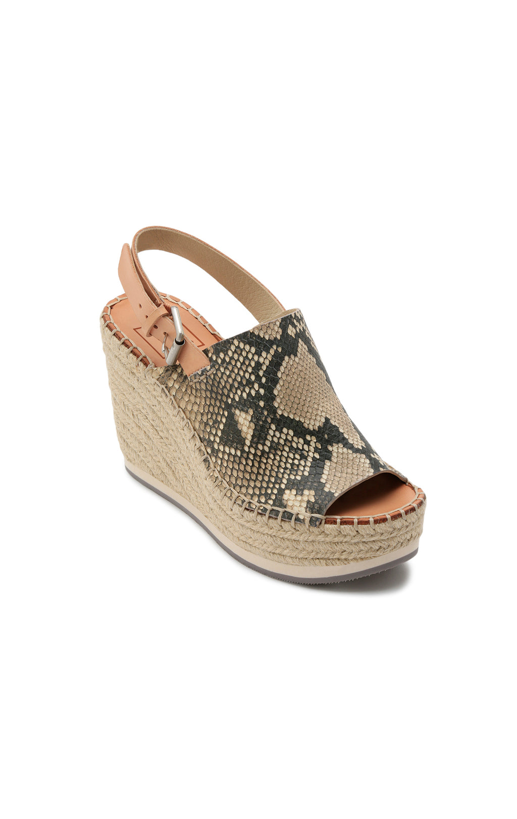 DOLCE VITA SHAN SNAKE WEDGES - SHOES