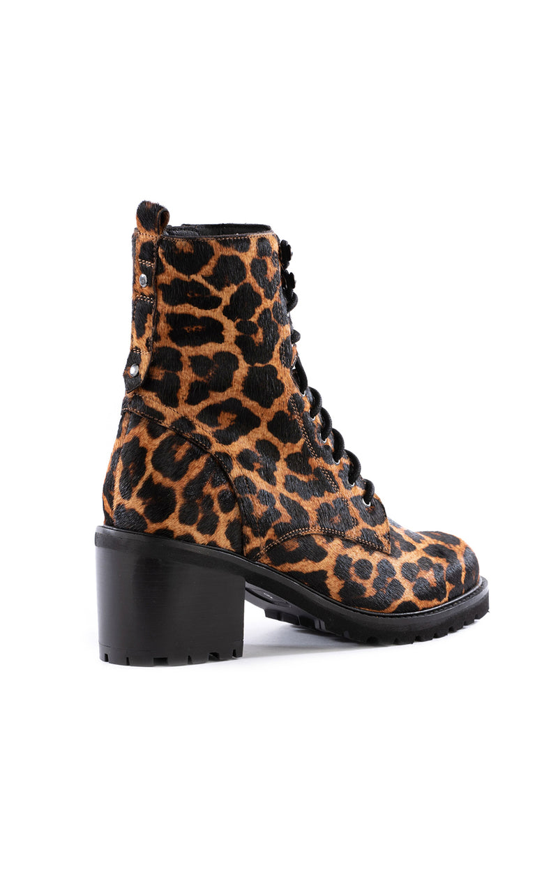 IRRESISTIBLE LEOPARD HIKER BOOT