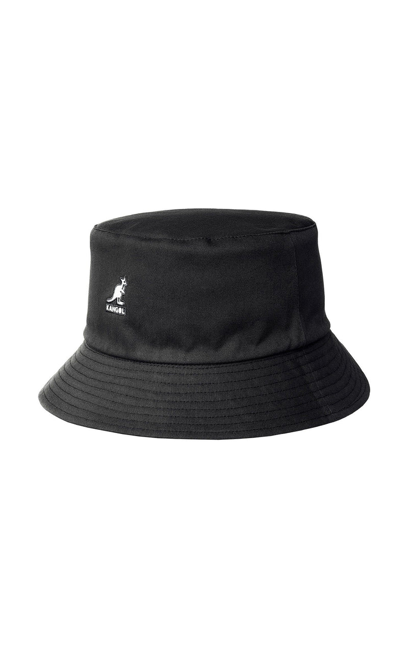 REVERSIBLE BUCKET HAT WITH KANGOL SCRIPT LOGO