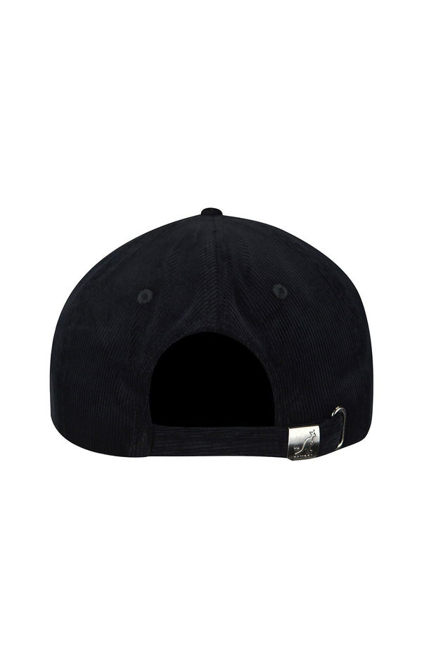 CORD BASEBALL CAP WITH KANGOL LOGO