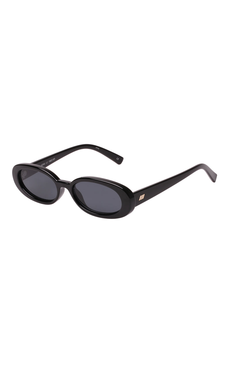 OUTTA LOVE OVAL SUNGLASSES