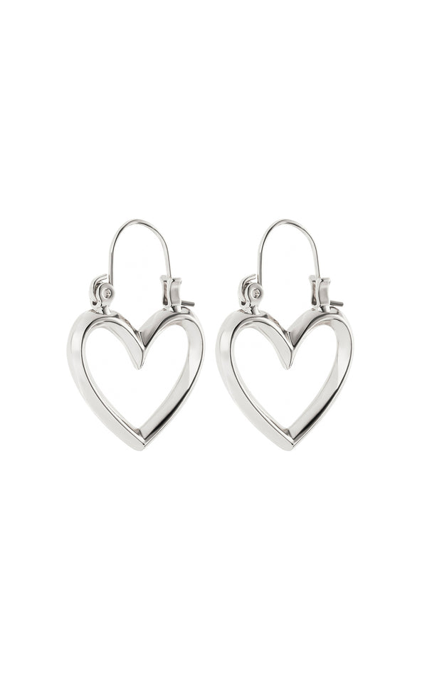 MINI HEARTBREAK HOOPS