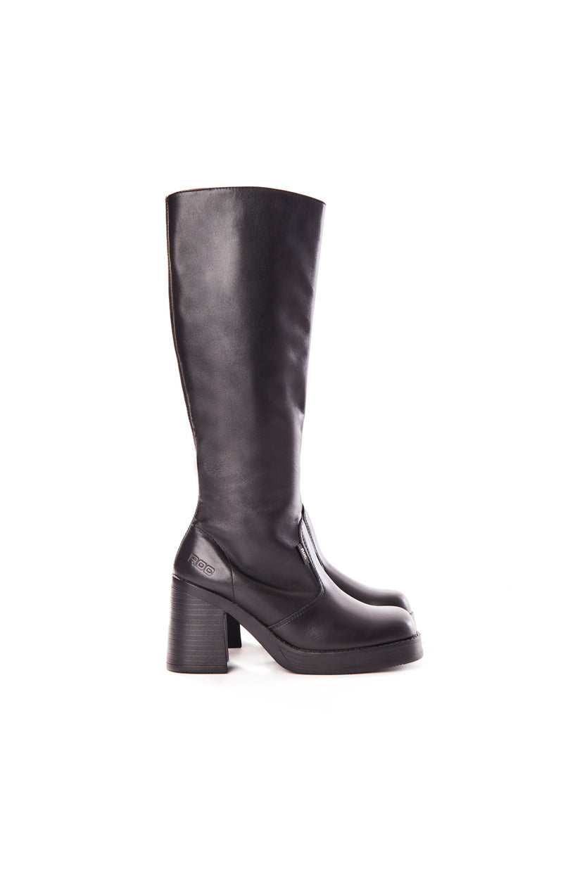 IDAHO KNEE HIGH BOOTS WITH CHUNKY PLATFORM