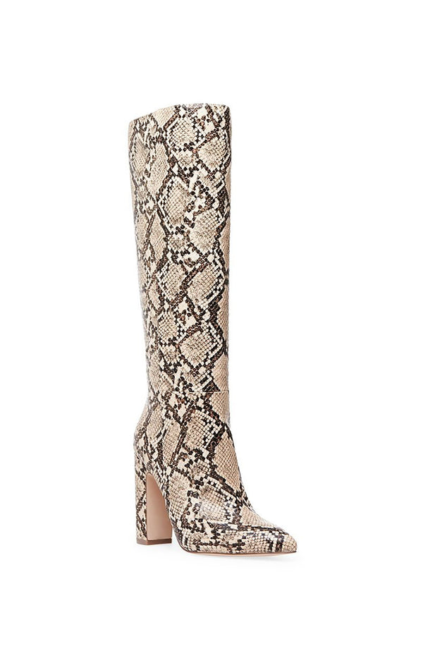 ROUGE HIGH HEEL SNAKE BOOT
