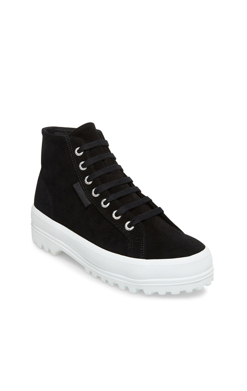 2341 SEUW HIGH TOP LUG BOTTOM SNEAKER