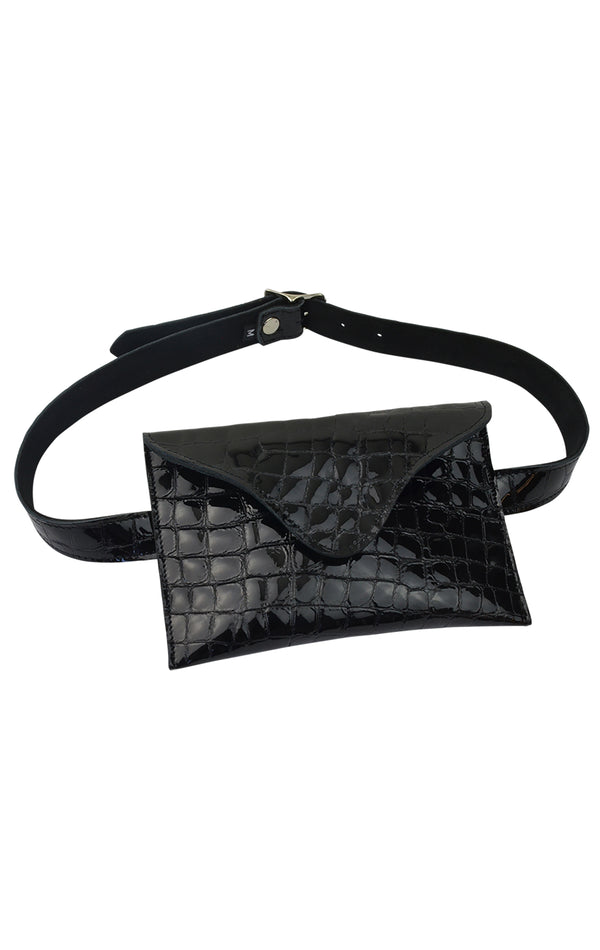 BOWIE CROC BELT BAG