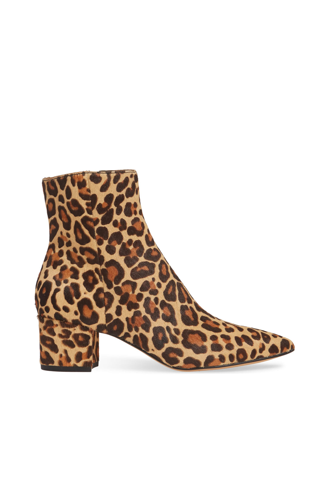 BEL ANKLE BOOTIE IN CALF HAIR