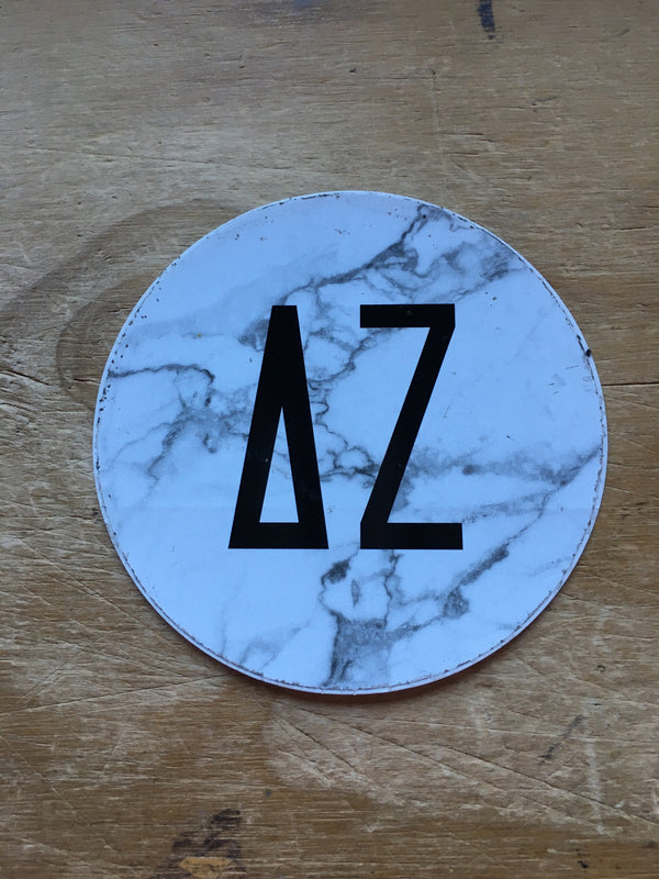 DZ Round Sticker - DZ Dezigns