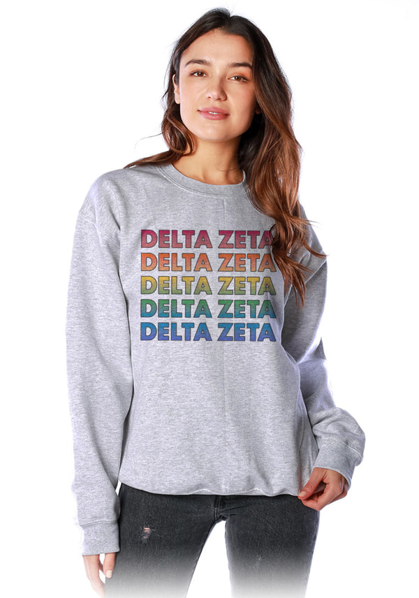 Technicolor Crewneck - DZ Dezigns