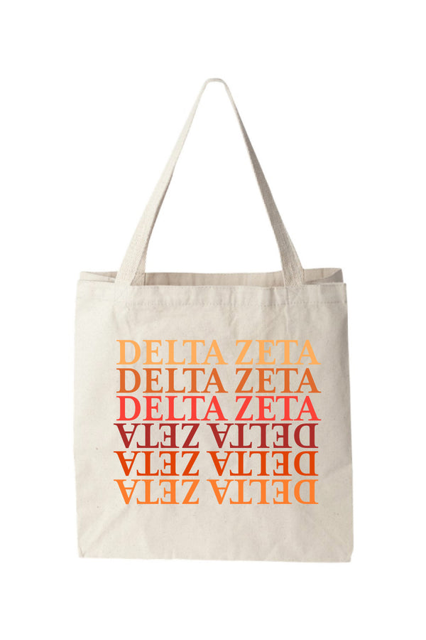 Falling for Delta Zeta Tote - DZ Dezigns