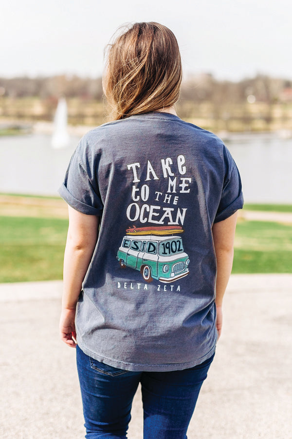 Take Me To The Ocean Tee - DZ Dezigns