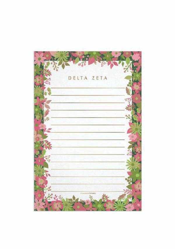Floral Notepad - DZ Dezigns