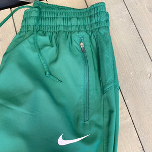 New! Mens Nike Basketball Dri-Fit Sweatpants Warm Up Green Black (Multiple Sizes)