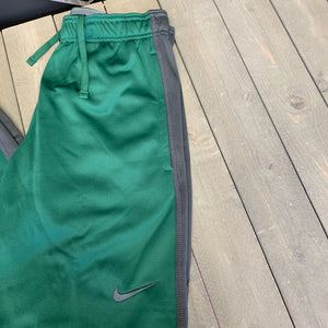 New! Mens Nike Training Sweatpants Thermafit Team KO Green Grey Size Small
