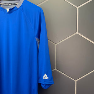 New! Adidas Climalite Game Day Fielder 3/4 Sleeve Collegiate Royal Grey Size XS