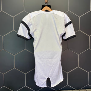 New! Mens Nike Football Pads Mesh Team Uniform Jersey White Black (Multiple Sizes)