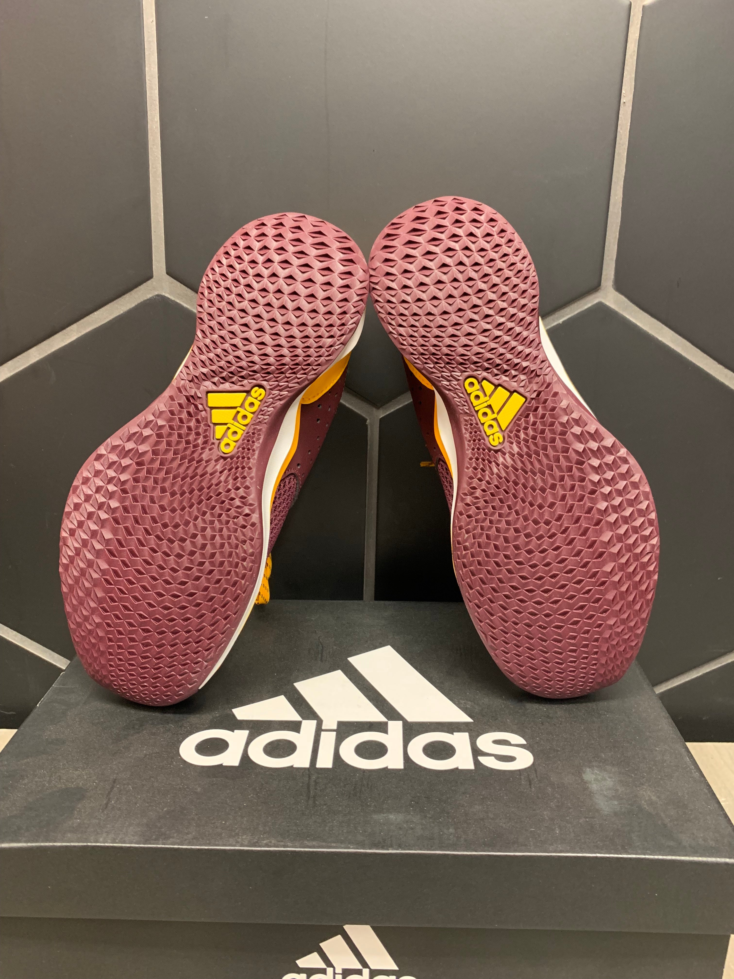 New W/ Box! Adidas Speed Trainer 3.0 ASU Baseball Cleats (Multiple)