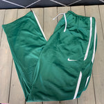 New! Womens Nike Sweatpants Training Overtime Green White Size Large