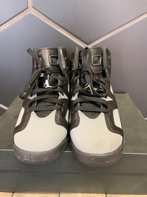 Used W/ Box! Air Jordan 6 Retro GS Cool Grey Shoe Size 7Y