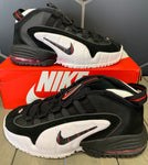 New W/ Box! Nike Air Max Penny LE Black Red Shoe Size 7Y