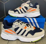 New W/ Box! Adidas Yung 96 Collegiate Navy Raw White Shoe (Multiple Sizes)