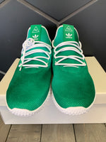 New W/ Box! Adidas Pharrell Human Race Tennis Bright Green Shoe (Multiple Sizes)