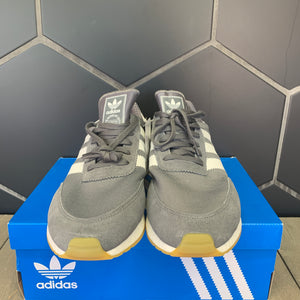 New W/ Box! Adidas Iniki Runner I-5923 Grey White Shoe Size 11.5
