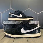 Used W/ Damaged Box! Nike Dunk Low Pro SB Weiger Black White Shoe Size 12