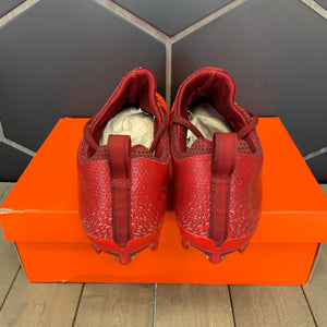 New W/ Box! Nike Vapor Untouchable Pro Red Silver Football Cleats (Multiple Sizes)
