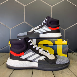 New W/ Box! Adidas Marquee Boost Mid Core Black Shoe (Multiple Sizes)