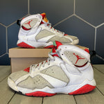 Used W/O Box! 2015 Air Jordan 7 Hare Size 9.5