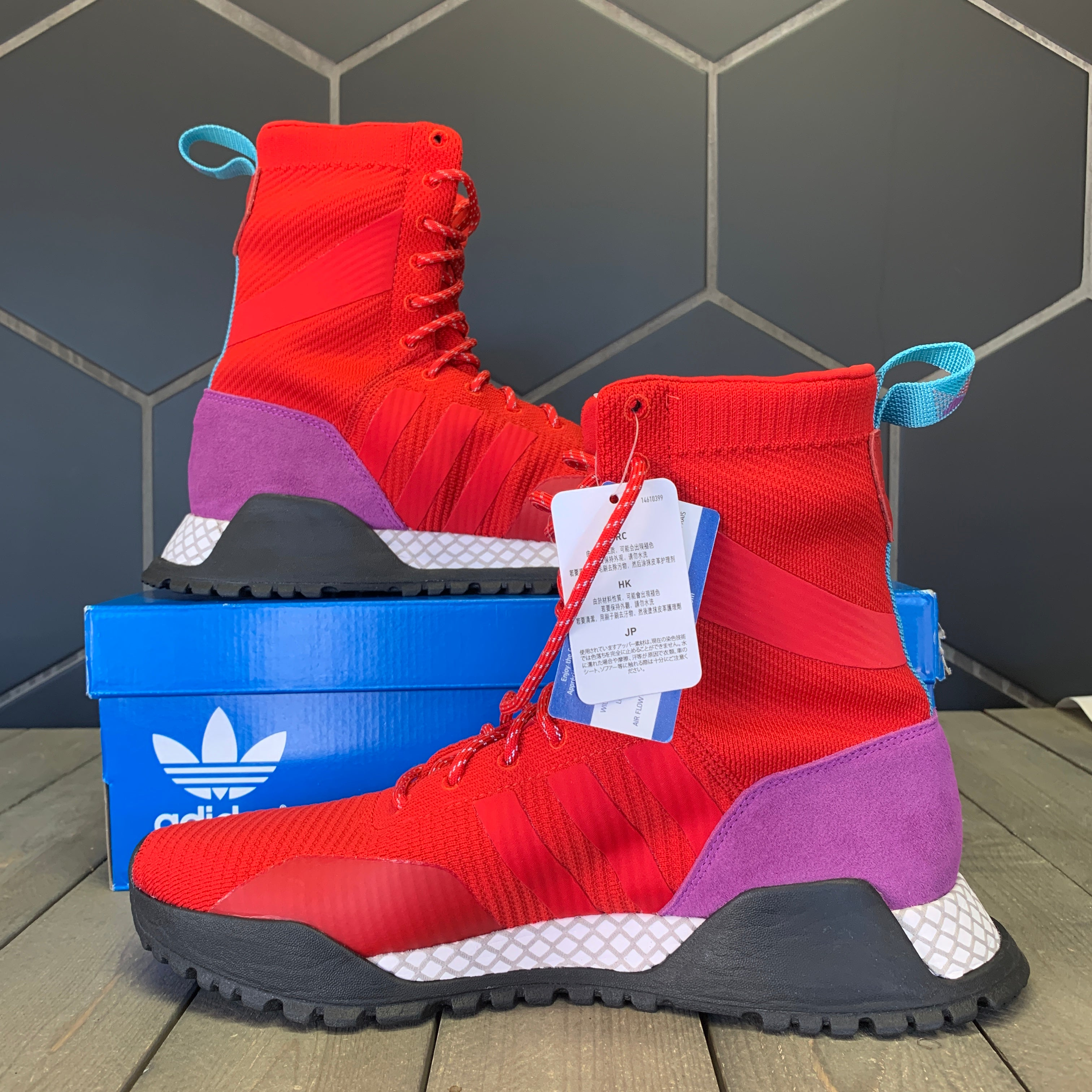 New W/ Box! Adidas F/1.3 PK Scarlet Purple Boots (Multiple Sizes)
